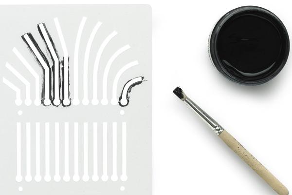 Bare Conductive pen voorbeeld
