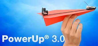 powerUp 3.0 vliegtuigje